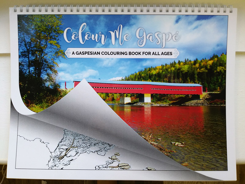Colour Me Gaspé – A Gaspesian Colouring Book for All Ages